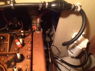 Priming Bulb and Racor - Moyer Marine Atomic 4 Community