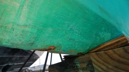 Pearson 30 Keel repair - Moyer Marine Atomic 4 Community