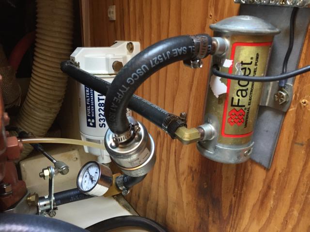 Fuel/water separator location? - Moyer Marine Atomic 4 Community - Home of  the AfouriansMoyer Marine Atomic 4 Community