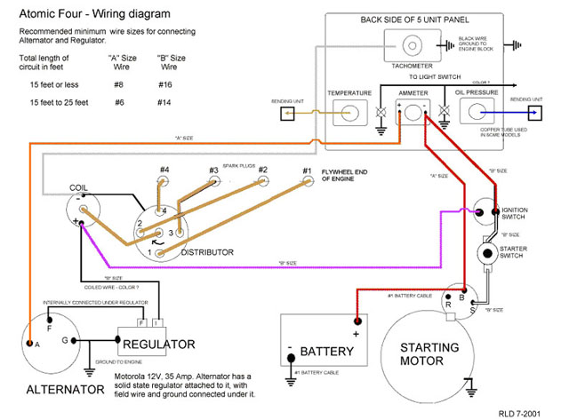 Perkins 12v Alternator Wiring Diagram